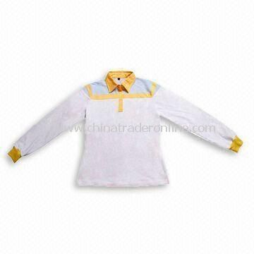 Long Sleeves Golf Shirt, Available in Various Colors from China
