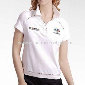 Moisture Wicking Dry-fit Golf Polo Shirt, Comes in Various Sizes and Colors from China
