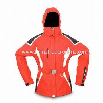 Ski Wear with Sleeve Cuffs and Waist Tape