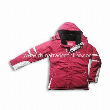 Ski-wear with Windbreak Hem on Inner Waist