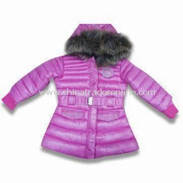 Skiwear, Made of 100% Polyester with Cotton Lining, Suitable for Girls
