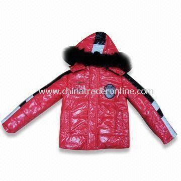 Skiwear with 100% Cotton and Polyester Lining, Suitable for Boys