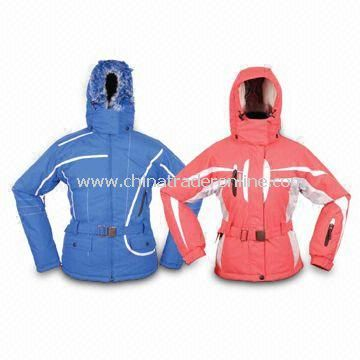 Taslon Ski Wear with 190T 100% Polyester Lining from China