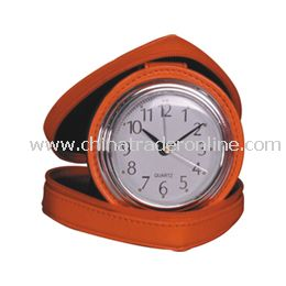 LEATHER CLOCK from China