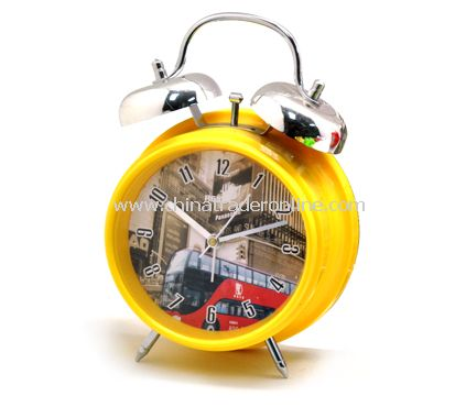 Twin Bell Clock from China