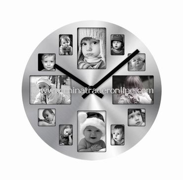 promotional PHOTO FRAME WALL CLOCK | PHOTO FRAME WALL CLOCK free ...