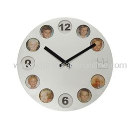 PHOTO FRAME WALL CLOCK from China