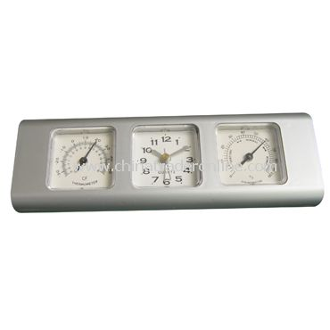 WEATHER-STATION CLOCK