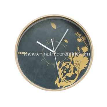 WOODEN WALL CLOCK from China