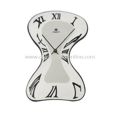 GLASS WALL CLOCK from China