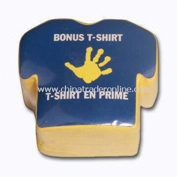 Promotional T-shirt Compressed Packing, Made of 100% Cotton Material