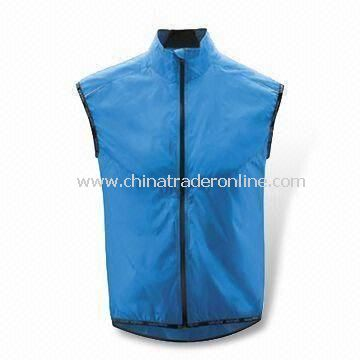 Aqua Marine Cycling Jersey with Polyester Mesh Lining