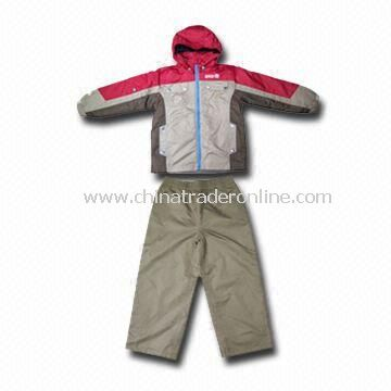 Boy Ski Outwear Sets, Customers Designs are Welcome