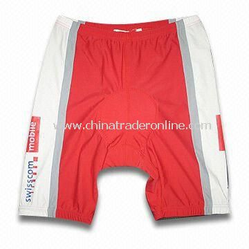 Cycling Short Pants with Mesh/Fleece Inside Attached and Stopper Tape at Hem from China