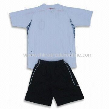 Decorated in Team Colors Soccer Jersey with Interlock Neck Trim, OEM Orders are Welcome