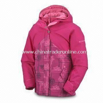 Girls Bohemian 3-in-1 Skiwear with Advanced Repellency System and Soft Taffeta Lining from China