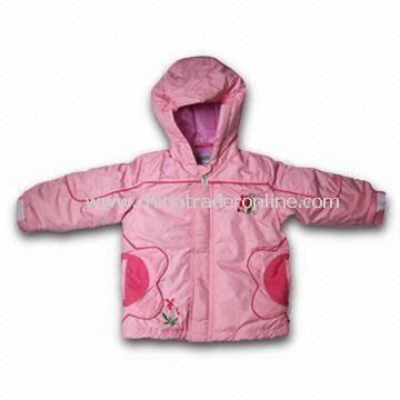 Girls Ski Jackets, Customers Design and Color Combination are Welcome