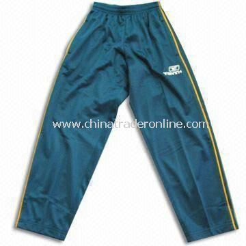 Jogging Pants, Made of 100% Polyester, Available in Various Sizes, Suitable for Boys from China