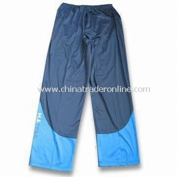 Mens Jogging Pants, Made of 100% Polyester, Available in Various Sizes