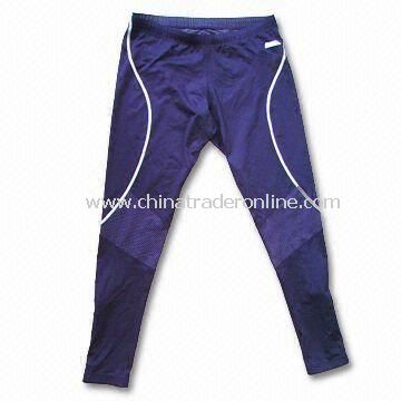 Mens Microfiber Soccer Pant, Made of 100% Polyester, Available with 2 Contrast Side Pockets
