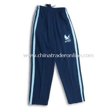 Mens Sports Pants, Made of 100% Polyester