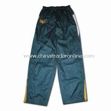Mens Sports Pants, Made of 100% Polyester Micro Diamond, Suitable for Australia Teams from China
