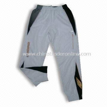 Mens Sports Pants, Made of Polyester