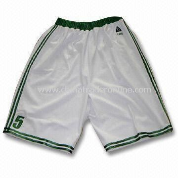 Mens Sportswear Short with Embroidery and Applique from China