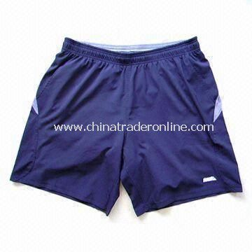 Mens Tricot Mesh Basketball Shorts with Bespoke Labels, Made of 100% Polyester from China