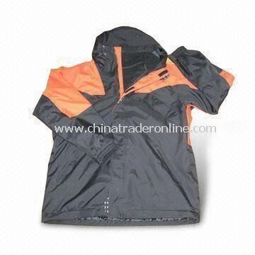 Mens Winter 2-in-1/3-in-1 Jacket, Water-resistant and Breathable Ski Wear from China