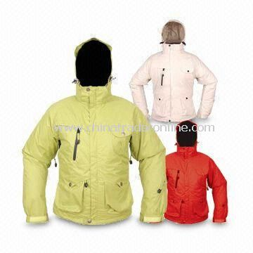 Skiwear with 120g Padding Lining and Underarm Zippers