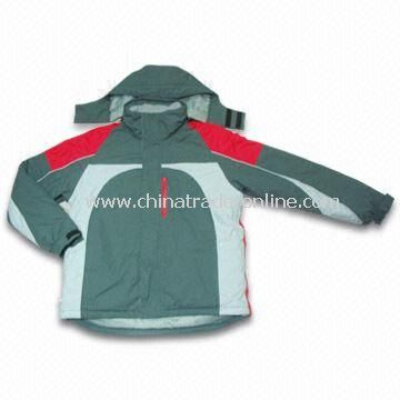 Skiwear with Breathable PU, Available in Different Designs