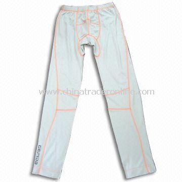 Sports Pants, Made of 100% Polyester