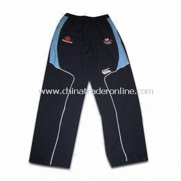 Waratahs 2010 Players Training Track/Sports Pants for Men, Made of 100% Polyester Double Weave