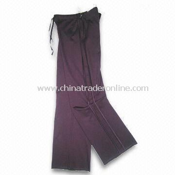 Womens Sports Pant, Made in CVC55/45 French Terry Fabric, Available in X, XS to 3XL Sizes