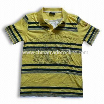 100% Cotton Childreds Fashionable T-shirt, Various Colors Available