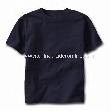 Childrens T-shirt, Customized Designs, Fabrics, and Logos are Welcome, Made of 100% Cotton