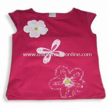 Childrens T-shirt, Customized Designs are Welcome