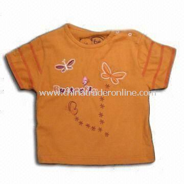 Childrens T-shirt, Made of 100% Cotton, Available in Various Colors