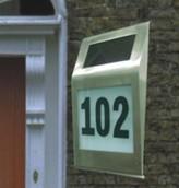 Solar door number