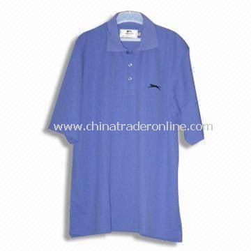 Short-sleeved Mens Golf T-shirt, Available in 2XS to 6XL Size Range