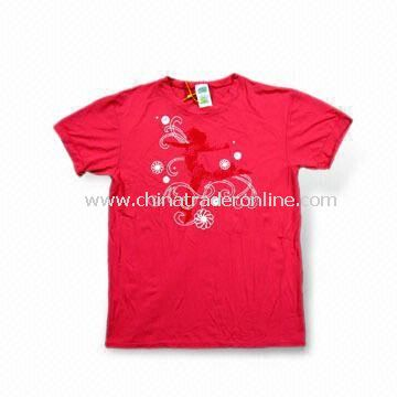 Womens Sports T-shirt, Made of 100% Nylon, Available in Various Colors