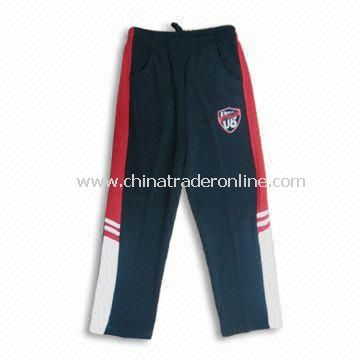 Boys Sports Pants, Made of 100% Polyester