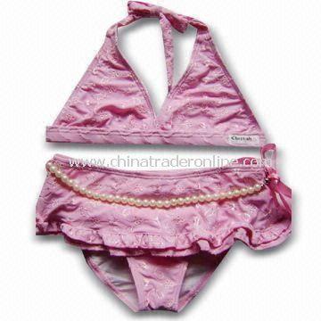 Childrens Swimwear, Made of 80% Polyamide and 20% Elasthane from China