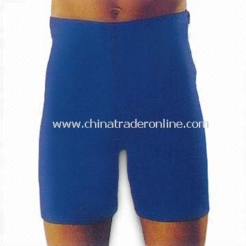 Comfortable Slim Shorts for Exercise and Sports Use, with Zipper