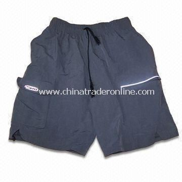 Cycling Shorts with Digital or Silk Sublimation Printing, Made of Polyester Fabric