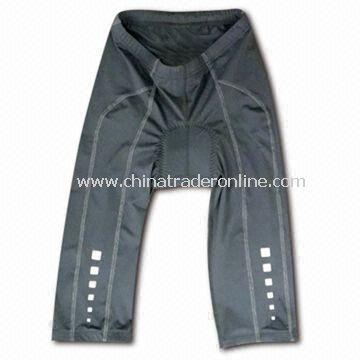 Female Cycle Shorts, Supports Flat Lock Seams and 6 Panel Designs