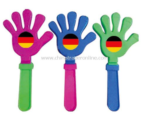 germany hand clap flag