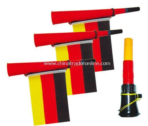 germany horn flag