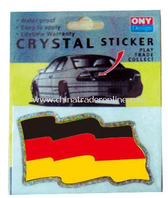 germany sticker flag